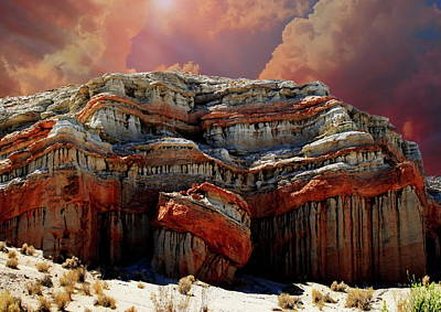 Marvelous Marble - Red Rock Canyon by Russ Harris