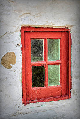 Route 66 Royalty Free Images - Red Window Royalty-Free Image by David Beard