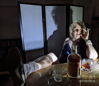 Photograph - Woman Redefining  by Steven Digman
