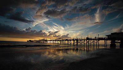 Photograph - Redington Beach Pier by Christopher Nelson