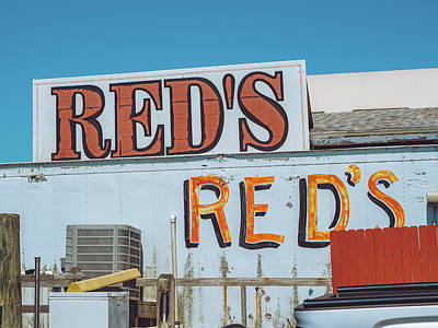 Photograph - Red's by David Oakill