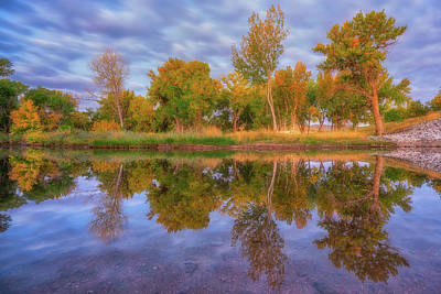 Royalty-Free and Rights-Managed Images - Reflecting Fall by Darren White