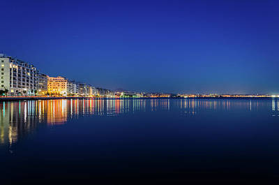 Royalty-Free and Rights-Managed Images - Reflection of Thessaloniki city centre by Alexios Ntounas