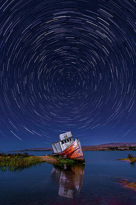 Soap Suds - Reflections and Star Trails by Don Hoekwater Photography