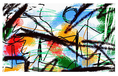Drawings Royalty Free Images - Relativity 21  Royalty-Free Image by Paul Sutcliffe