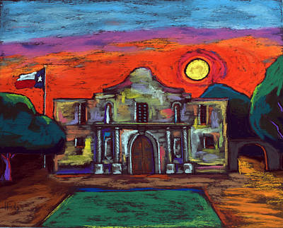 Wild Weather - Remembering The Alamo by David Hinds