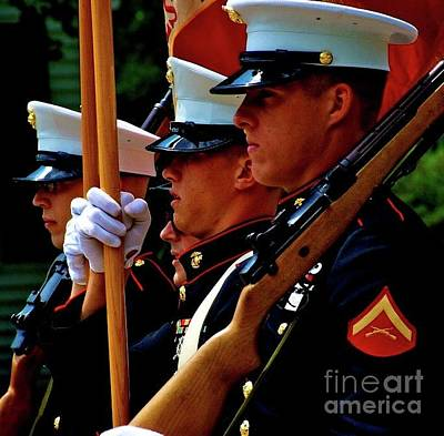 Frank J Casella Royalty-Free and Rights-Managed Images - Remembering the Brave by Frank J Casella