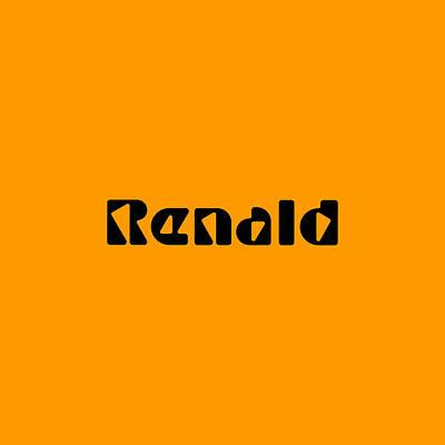 Digital Art - Renald by TintoDesigns