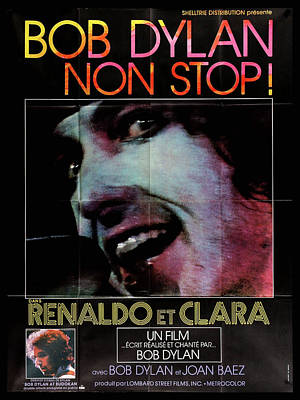 The Champagne Collection - Renaldo and Clara movie poster 1978 bob dylan by Stars on Art