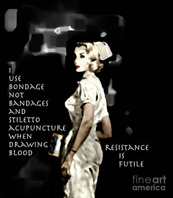 Photograph -  Resistance is Futile  by Steven Digman