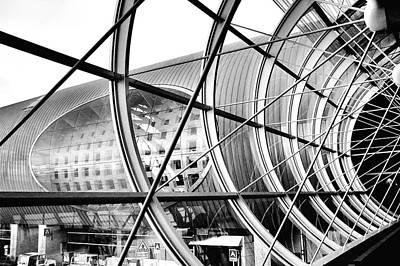 Photograph - Retro Futuristic by Kaishin Chu