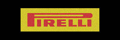 Sports Royalty-Free and Rights-Managed Images - Retro Pirelli Tyres by Look Good