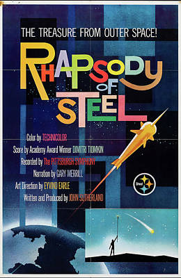 Mixed Media Royalty Free Images - Rhapsody of Steel poster 1959 Royalty-Free Image by Stars on Art