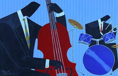 Painting - Rhythm Session by Darryl Daniels