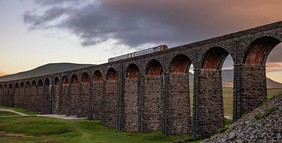 David Bowie - Ribblehead Viaduct and train by Paul Madden