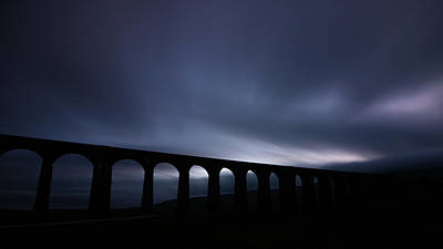 David Bowie - Ribblehead Viaduct Long Exposure at duck by Paul Madden