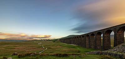 David Bowie - Ribblehead Viaduct long exposure by Paul Madden