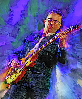 Royalty-Free and Rights-Managed Images - Richard Hawley by Mal Bray