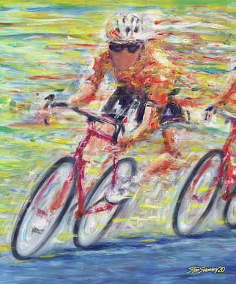 Painting - Richmond Pro Race No 2 by Stan Sweeney