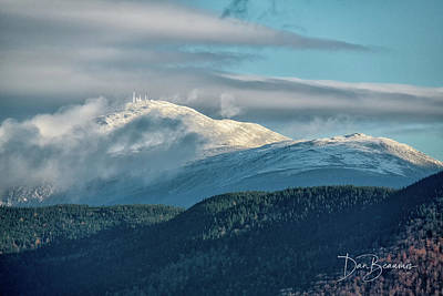 Dan Beauvais Royalty-Free and Rights-Managed Images - Rime Ice on Mount Washington 5030 by Dan Beauvais