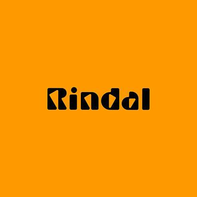 Digital Art - Rindal by TintoDesigns