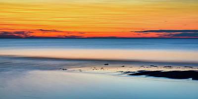 Photograph - Rising Tide Past Sunset by Howard Yermish