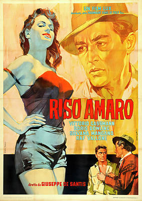 Royalty-Free and Rights-Managed Images - Riso Amaro, 1949 by Stars on Art