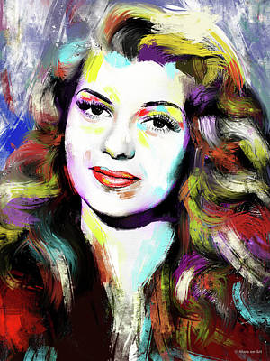 Queen - Rita Hayworth by Stars on Art
