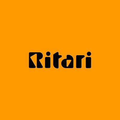 Digital Art - Ritari by TintoDesigns