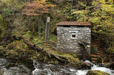 Photograph - River Brathay Hydroelectric Plant 2 by Gavin Dronfield