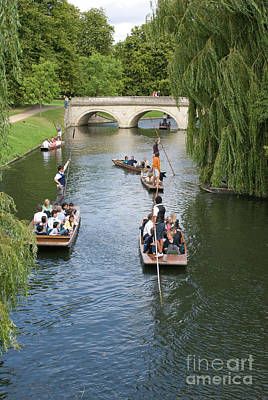 Ethereal - River Cam, Cambridge 3 by Dariusz Gora