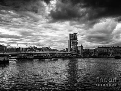 Photograph - River Lagan, Belfast by Jim Orr