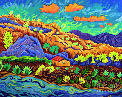 Painting - River of Clouds by Cathy Carey