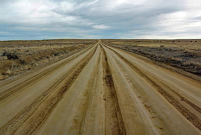 State Love Nancy Ingersoll - Road To Chaco by Jennifer Robin