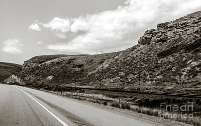 Keith Richards - Road Trip - Utah 003 by Alesia Kaye Stein