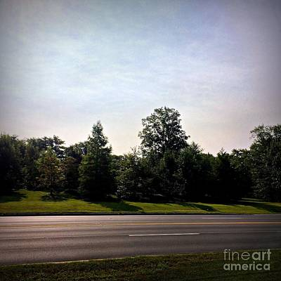 Frank J Casella Royalty-Free and Rights-Managed Images - Roadside Sky by Frank J Casella