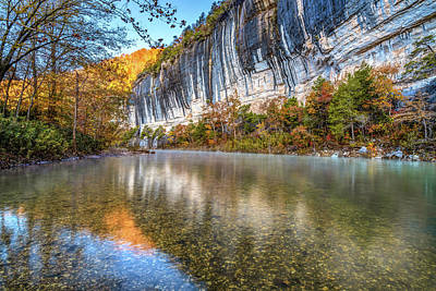Outerspace Patenets - Roark Bluff and Buffalo River - Arkansas Natural State by Gregory Ballos