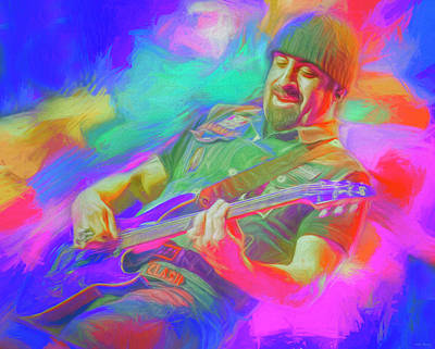 Royalty-Free and Rights-Managed Images - Rob Caggiano Volbeat by Mal Bray