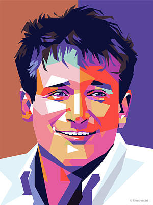 Royalty-Free and Rights-Managed Images - Robin Williams by Stars on Art