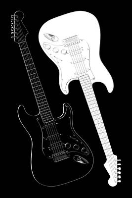 Music Royalty-Free and Rights-Managed Images - Rock and Roll Yin Yang by Mike McGlothlen