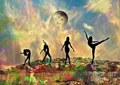 Outdoor Graphic Tees - Rock Dancers by Laurie
