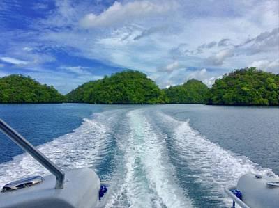 Truck Art - Rock Islands In Palau by Lorna Maza