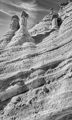 Design Pics - Rock Wall at Kasha-Katuwe Tent Rocks National Monument by Joan Carroll