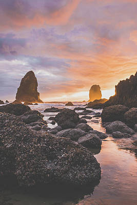 Royalty-Free and Rights-Managed Images - Rocky Coast 1 by Bill Cantey