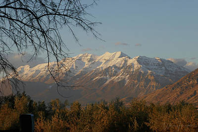 Photograph - Rocky Mountain Landscape, Utah, USA - 0294 by Wally Hampton