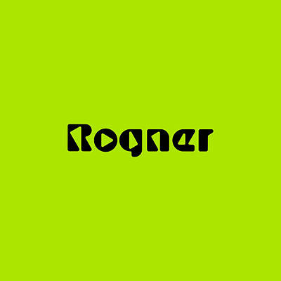 Royalty-Free and Rights-Managed Images - Rogner #Rogner by TintoDesigns