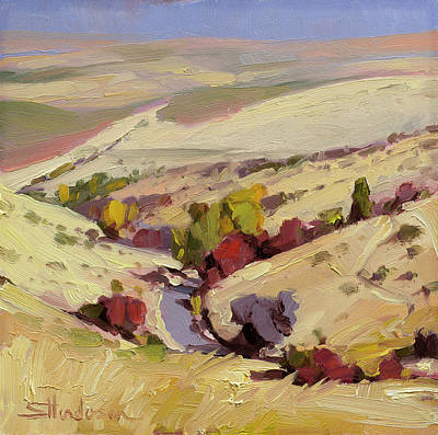 Book Quotes - Rolling Landscape by Steve Henderson