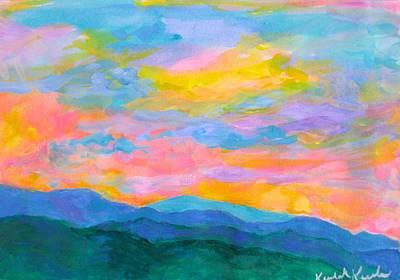 Owls - Rolling on The Blue Ridge by Kendall Kessler