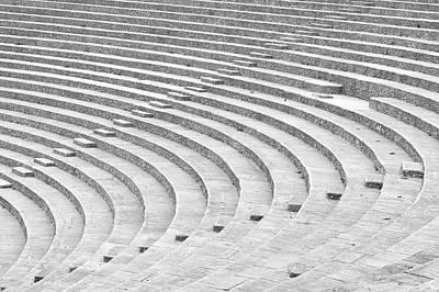 Photograph - Roman amphitheater by Cosmina Lefanto