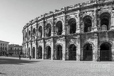 Bear Photography Rights Managed Images - Roman Amplitheater Nimes France  Royalty-Free Image by Kimberly Blom-Roemer